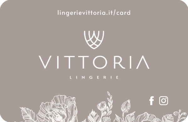 lingerie Vittoria Gallarate gift card