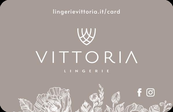 lingerie Vittoria Gallarate gift card