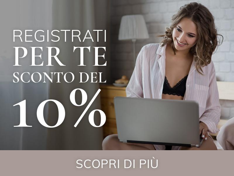 Lingerie Vittoria sconto 10%