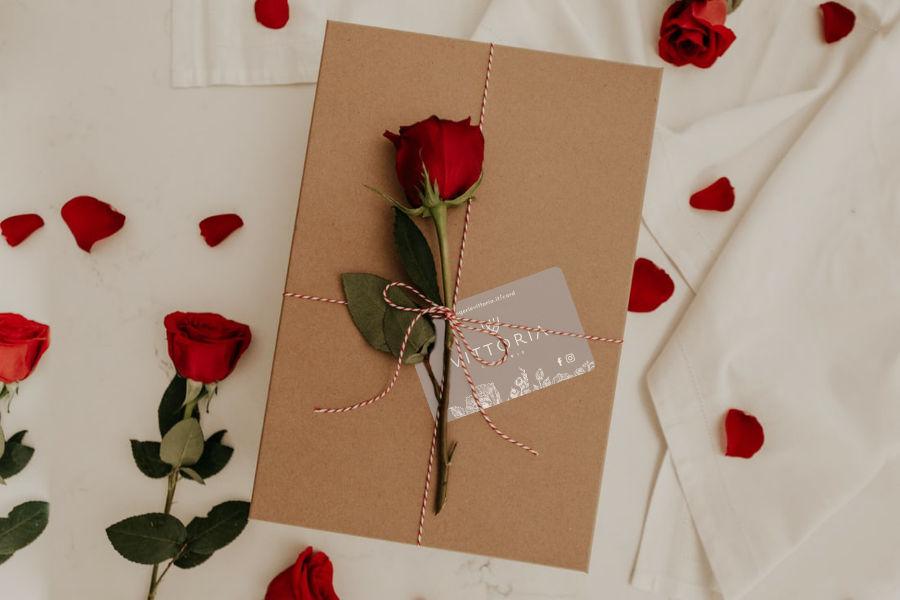 Lingerie vittoria San Valentino intimo - gift card