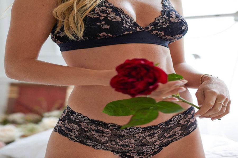 Lingerie vittoria San Valentino intimo - bralette